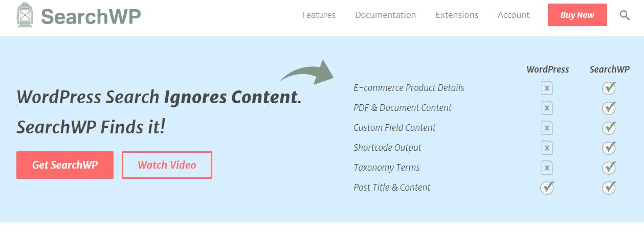 Search WP-WordPress Search Plugin