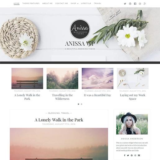 annisse-free-feminine-wordpress-theme
