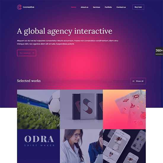 betheme premium wordpress business theme
