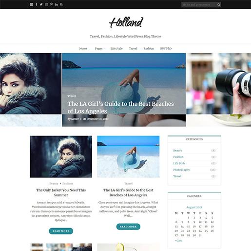 holland-free-feminine-wordpress-theme