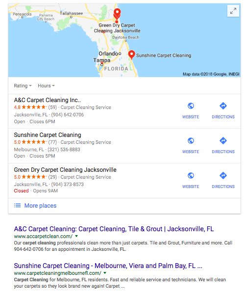 local SEO audit agency listing