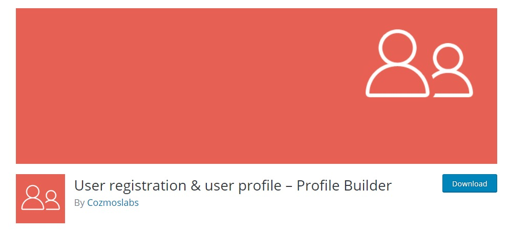 profile builder wordpress registration plugin