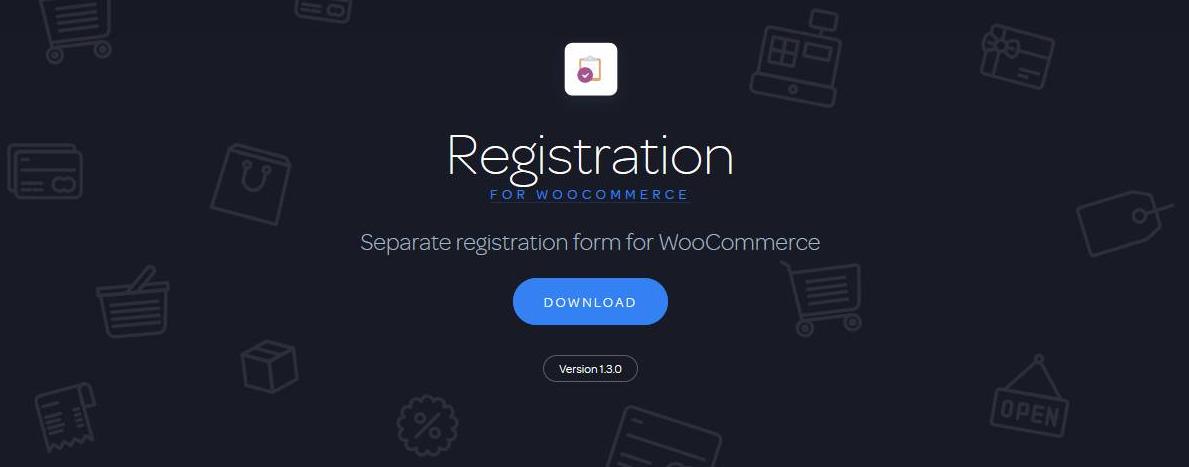 registration for woocommerce