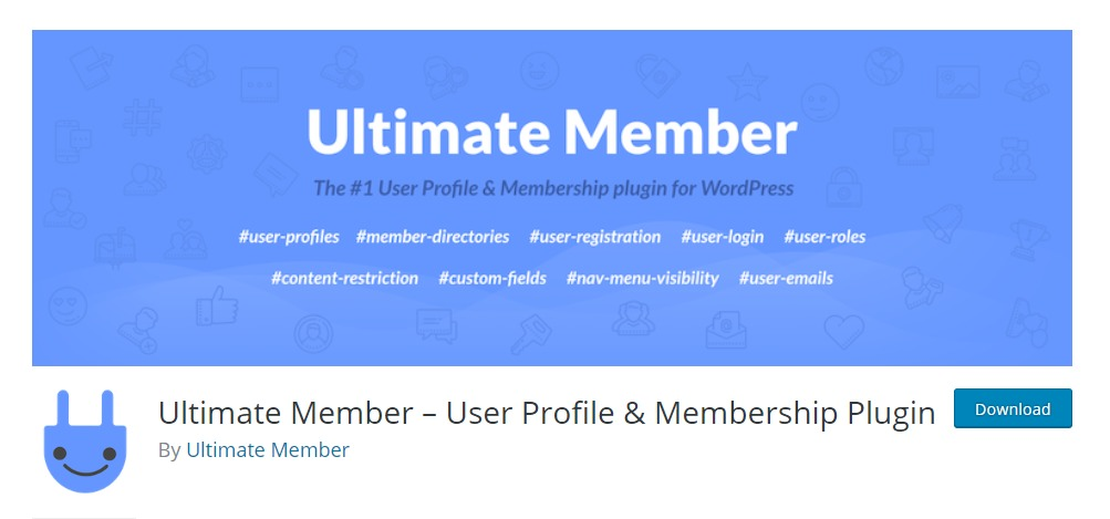 ultimate member wordpress registration plugin
