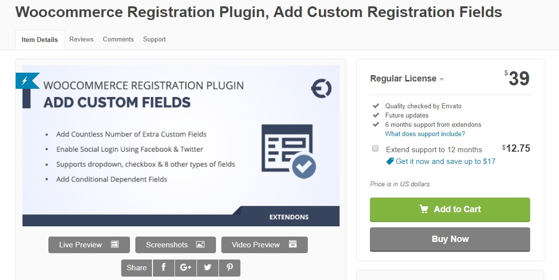 7 Best WooCommerce Registration Plugin for your WooCommmerce
