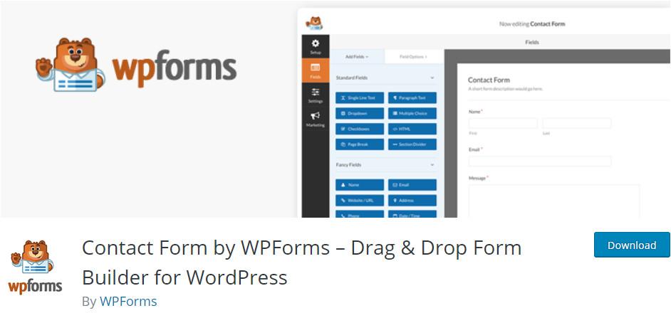 wordpress form builder plugins wpforms