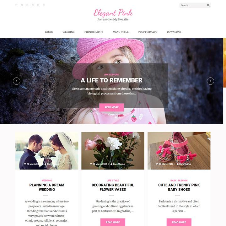 elegant-pink-wedding-wordpress-theme