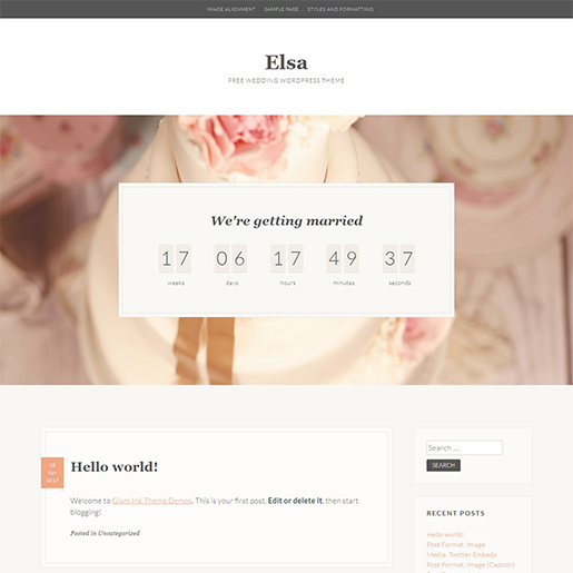elsa free event wordpress theme