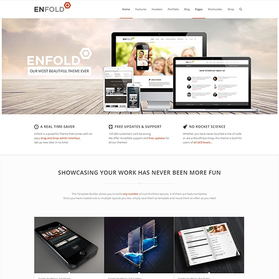 enfold premium wordpress business theme