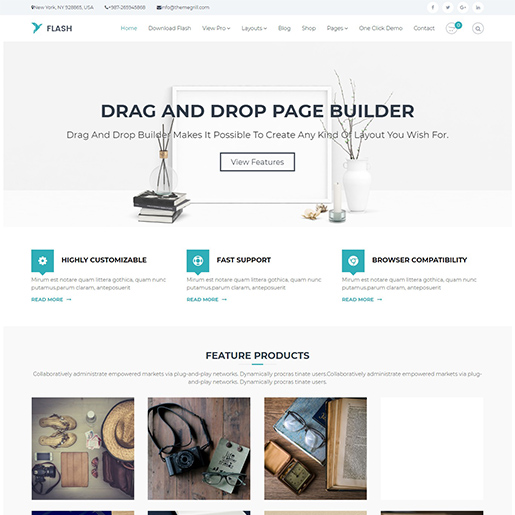 flash free event wordpress theme
