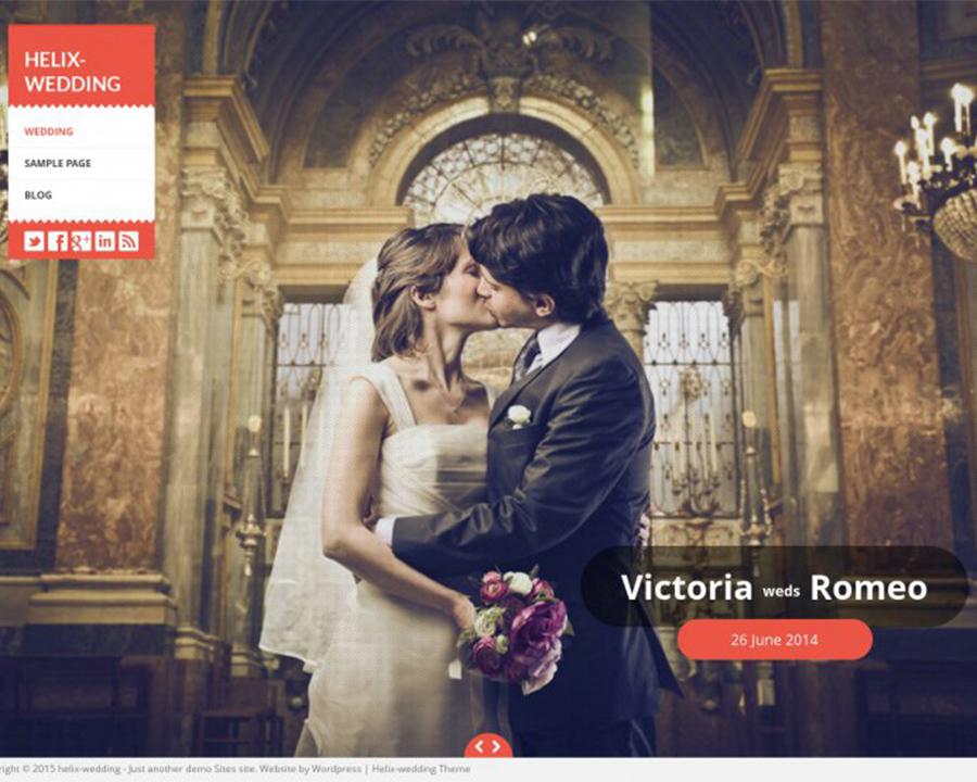 helix-matrimony-wedding-wordpress-theme