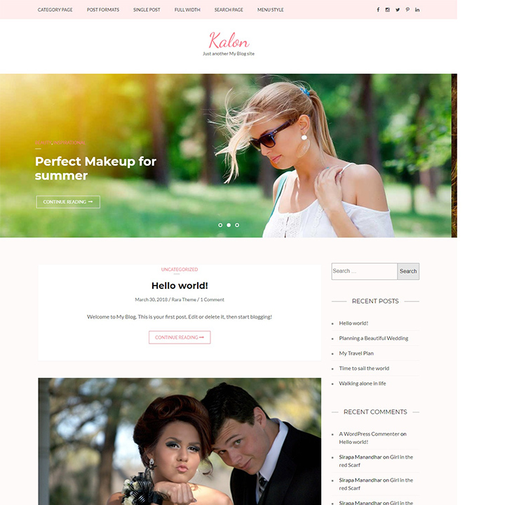 kalon-wedding-wordpress-theme