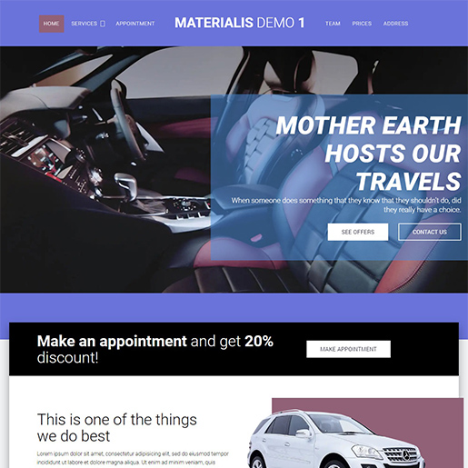 materials multipurpose wordpress themes