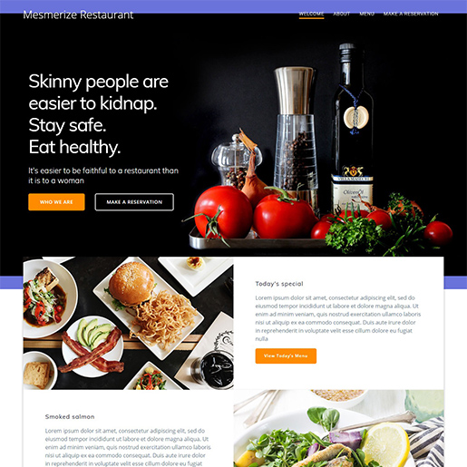 mesmerize multipurpose wordpress themes