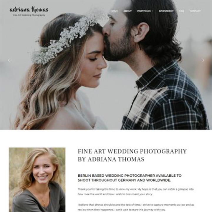 photo-frame-wedding-wordpress-theme