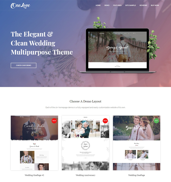 premium-wordpress-wedding-themes-one-love
