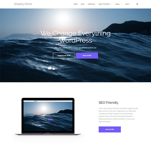 shapely multipurpose wordpress themes