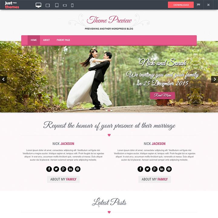 skt-wedding-lite-wedding-wordpress-theme