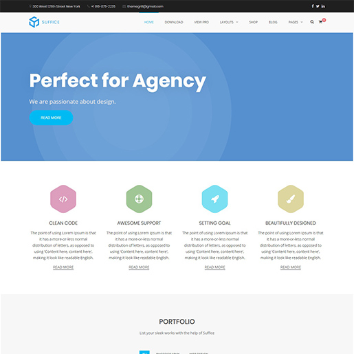 suffice multipurpose wordpress themes