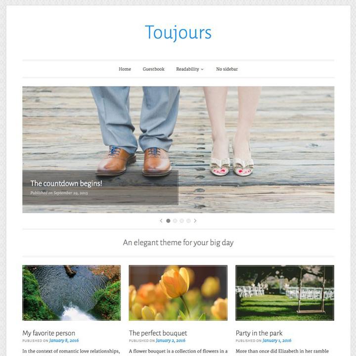 toujuors-lite-wedding-wordpress-theme