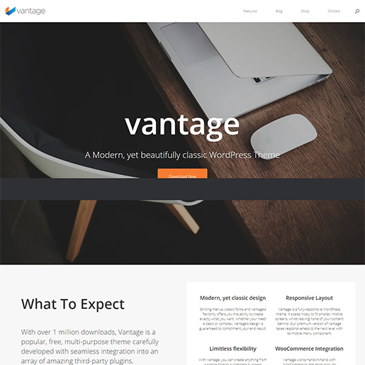 vantage multipurpose wordpress themes