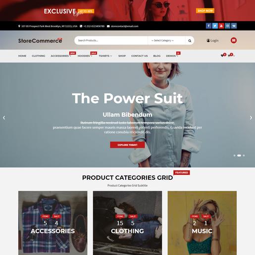 StoreCommerce WordPress Theme