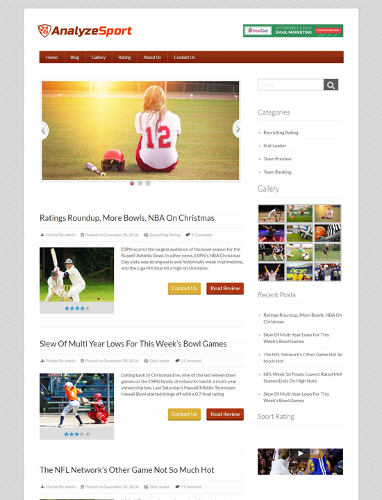 15 Best Premium WordPress Sports Themes For Professional Websites!