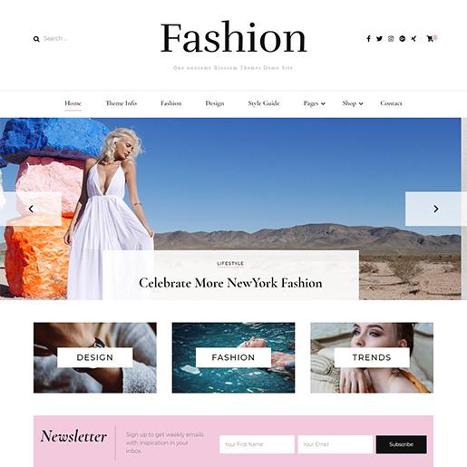 blossom fashion free fashion wordpress theme