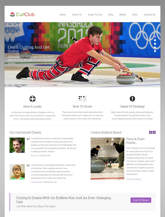 curlclub-wordpress-sports-themes