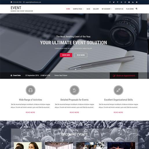 event free fashion wordpress theme