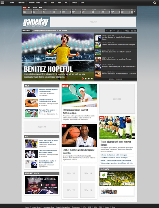 gameday-wordpress-sports-themes