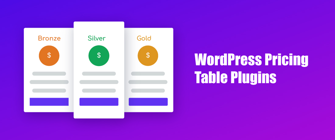 9 Effective & Useful WordPress Pricing Table Plugins For 2019