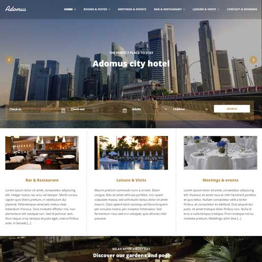 adomus-best-wordpress-hotel-themes