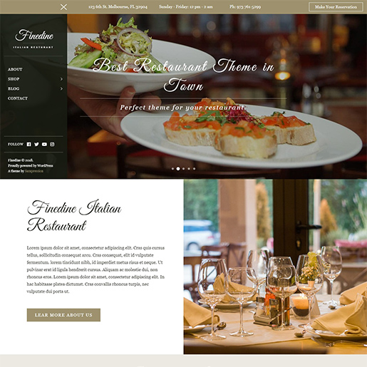 fine-dine-best-wordpress-hotel-themes