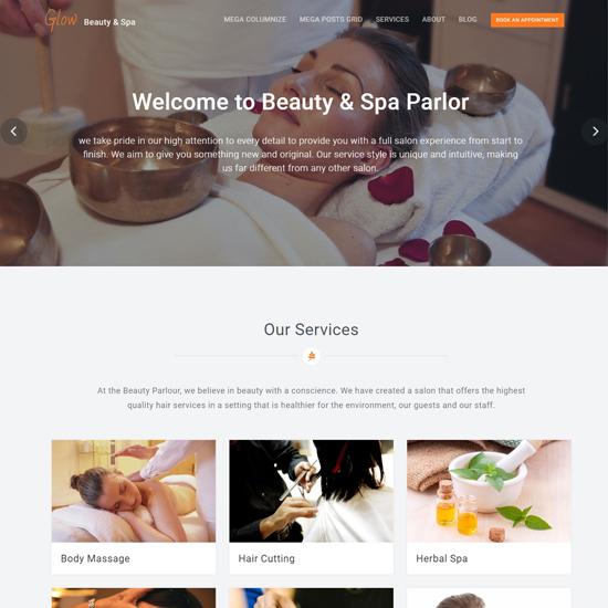 glow-wordpress-spa-and-salon-themes