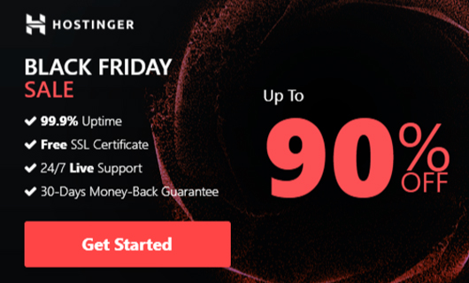 hostinger wordpress black friday deals