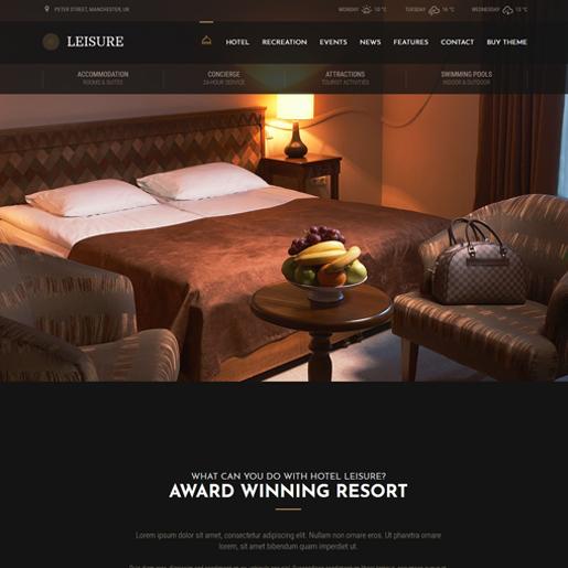 leisure-best-wordpress-hotel-themes