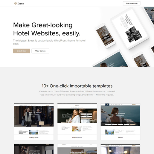 luxe-best-wordpress-hotel-themes
