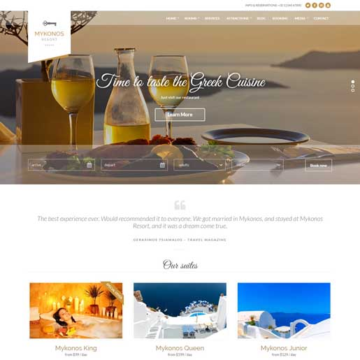 mykonos-best-wordpress-hotel-themes