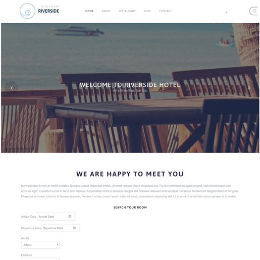 riverside-resort-best-wordpress-hotel-themes