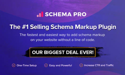 schema pro wordpress black friday deals