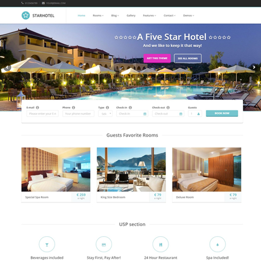 star-hotel-best-wordpress-hotel-themes