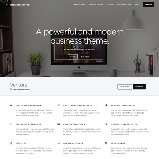 venture-best-wordpress-hotel-themes