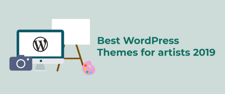 15+ Best Free WordPress Themes for Artists 2019
