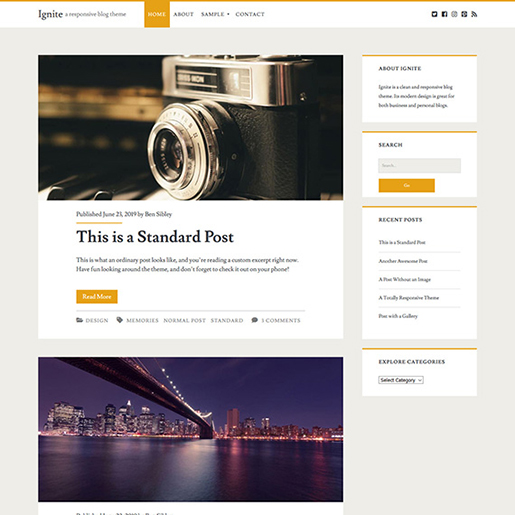 Ignite-WordPress-Blogging-Theme