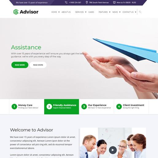 advisor-wordpress-insurance-theme