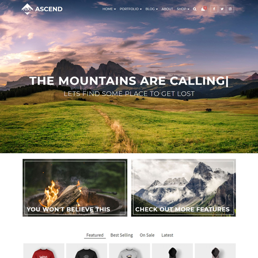 ascend-wordpress-theme
