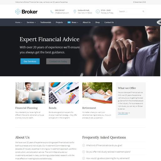 broker-wordpress-insurance-theme