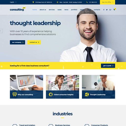 consulting-wordpress-insurance-theme