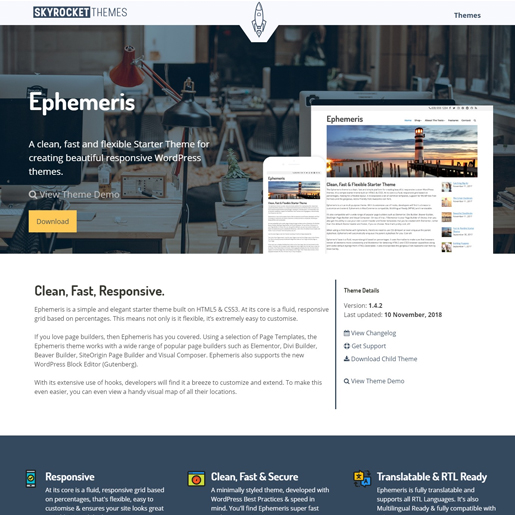 ephemeris-gutenberg-compatible-wordpress-theme
